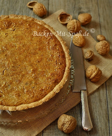 Walnuss-Tarte