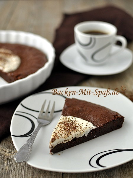 Schoko-Kaffee-Brownie